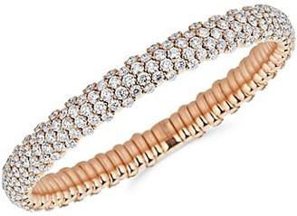 Zydo Stretch 18K Rose Gold & Diamond Bracelet