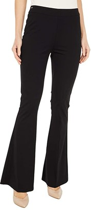 Lisette L Montreal Kathryne Fabric Flare Pants (Black) Women's Casual Pants