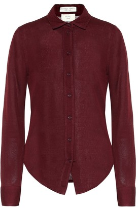Bottega Veneta Sable jersey shirt