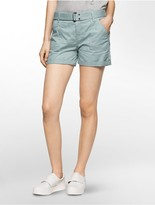 Calvin Klein Belted Utility Shorts