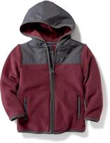 Old Navy Micro Fleece Hooded Jacket for Toddler