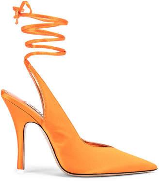 ATTICO High Heel Slingback in Orange | FWRD