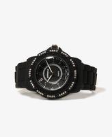 Forever 21 Rhinestone Trim Watch