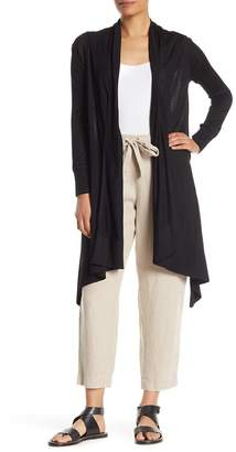 DKNY Open Front High/Low Cardigan
