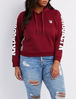 Charlotte Russe Plus Size Brooklyn Cropped Hoodie