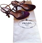 Prada Purple Sandals