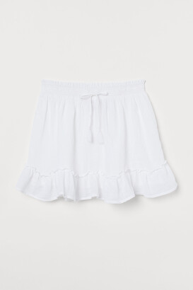 H&M H&M+ Short cotton skirt