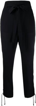 Ann Demeulemeester Waist-Tied Tailored Trousers