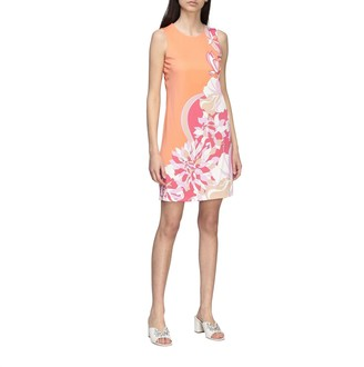 Emilio Pucci Dress Long Dress In Jersey With Vahiné Print
