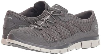 Skechers Gratis Strolling (Charcoal) Women's Lace up casual Shoes