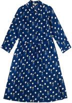 Cath Kidston Tinker Bell Button Spot Crepe Dress