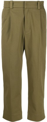 Acne Studios Tapered Pleated Trousers