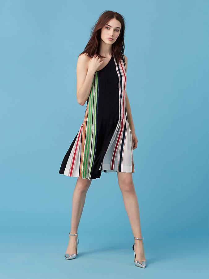 Diane von Furstenberg One-Shoulder Ribbon Dress