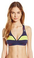 Jag Women's Newport Stripe Tie Back Bra Bikini Top