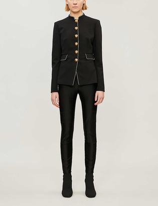 Pinko Etichetta piped-trim woven jacket