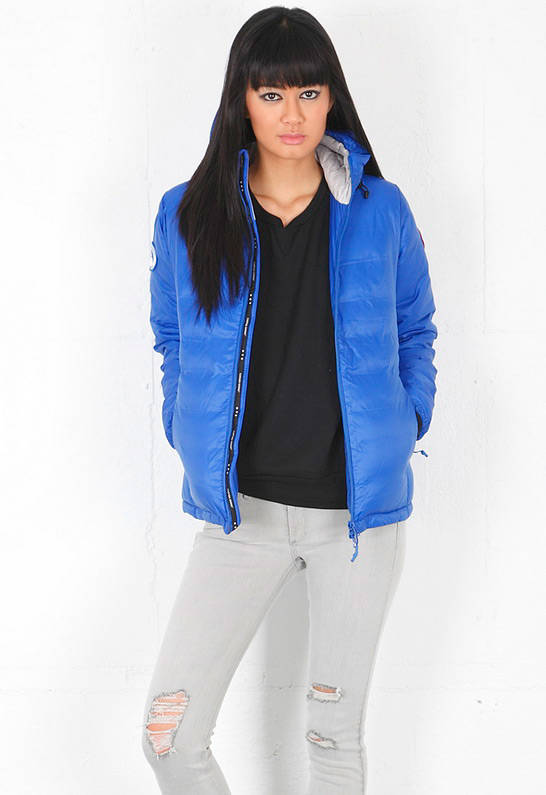Canada Goose PBI Camp Hoody in PBI Blue
