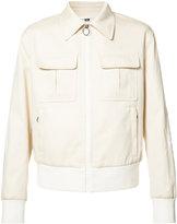 Neil Barrett zipped pocket jacket - men - Cotton/Polyester/Polyurethane/Viscose - 40