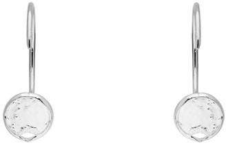 Dear Letterman Silver Zahia Earrings