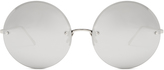 Linda Farrow Oversized round sunglasses