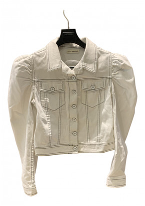 Ulla Johnson White Denim - Jeans Jackets
