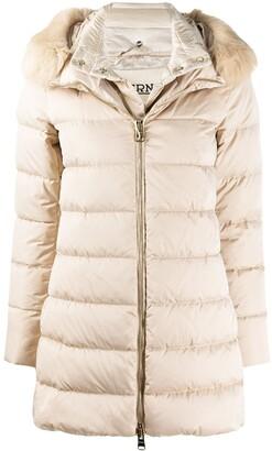 Herno Fur-Hood Padded Coat