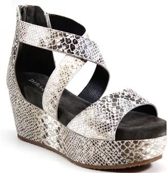 Diba True Leather Platform Sandals - Busta Move