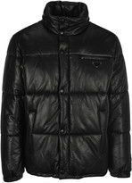 Prada Leather Padded Jacket