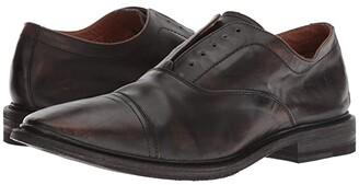 Frye Paul Bal Oxford (Black Brush-off Full Grain) Men's Shoes