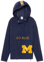 PINK University Of Michigan Anorak