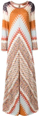 Missoni Abstract-Print Kaftan Dress