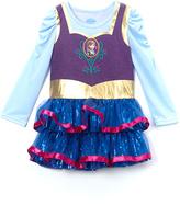 Children's Apparel Network Frozen Anna Purple Sequin Dress - Girls