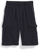 Tea Collection Infant Boy's Knit Cargo Shorts