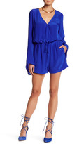 Charlie Jade Long Sleeve Surplice Romper