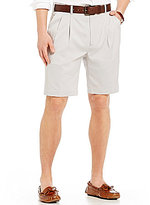 Roundtree & Yorke Big & Tall Pleated Stretch Microfiber Easy Care Shorts