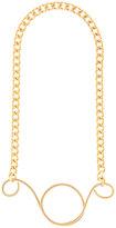 Vionnet pendant chain necklace