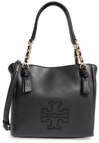 Tory Burch Small Harper Leather Satchel - Metallic