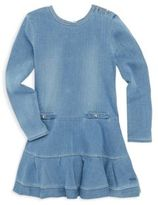 Chloé Toddler's, Little Girl's & Girl's Buttoned Denim Dress
