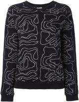 Zoe Karssen embroidered sweatshirt