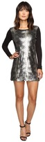 Calvin Klein Jeans Sequin Front Long Sleeve Dress