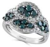 Effy Final Call Diamond & 14K White Gold Ring