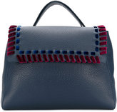 Orciani large fold over tote