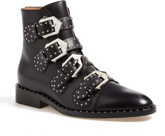 Givenchy Prue Studded Buckle Bootie