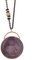 Jamie Joseph Round Star Ruby Pendant Necklace