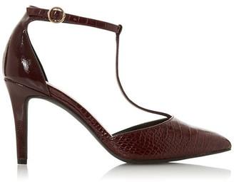 Roberto Vianni Chane T-Bar Heeled Court Shoes