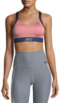 Nike Pro Indy Logo Back Performance Sports Bra