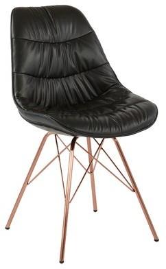 "Wrought Studioâ""¢ Alois Side Chair Wrought Studioa Fabric: Brown"