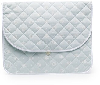 Christian Dior Pre-Owned Diamond Quilted Beach Clutch
