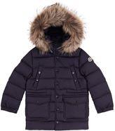 Moncler Seneca Fur Trim Coat