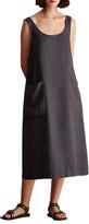 Toast Sleeveless Linen Sun Dress, Slate