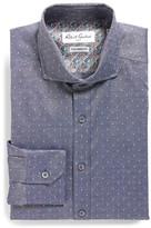 Robert Graham &Cinto& Tailored Fit Dobby Dress Shirt